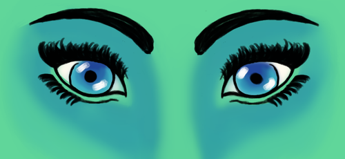 eyes by 15033a