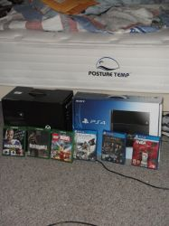XBox One and PS4 plus the games Photo 2 by Supermutant2099