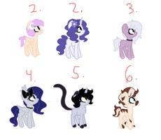 Adoptables 1 by binxy-winxy