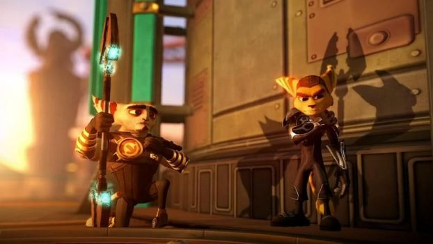 Ratchet and Clank Trailer pic by talwyn8303