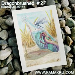Dragonbrushed [Smaugust] #27 - In a bottle by Kamakru