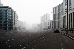 Smog in Moscow 7 by WilliH