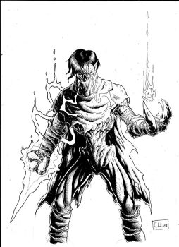 some raziel from soul reaver by Weball