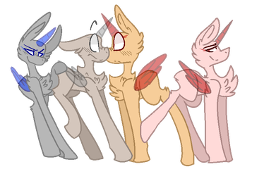 (( ~ Le Shipping Sinners [ MLP BASE ] ~ )) by TheMemeWizard