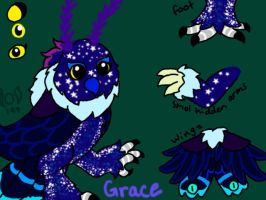 Grace ref sheet (Small form) by OmegaLombax194