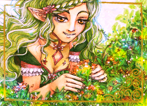 ACEO-Flowers by atorife