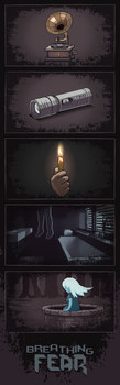 Breathing Fear, pixel horror, available in Steam by Vadich