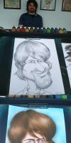 Ryan Caricature by rkw0021