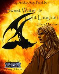 Sweet Water and Light Laughter Book Cover by SableAradia