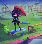 [C] Rainy day by madichams