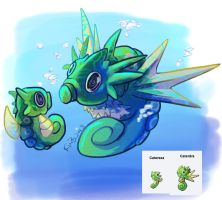 Pokefusion - Catersea and Caterdra by phantos