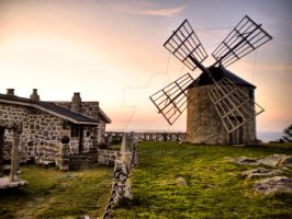 Windmills of Montedor by vmribeiro