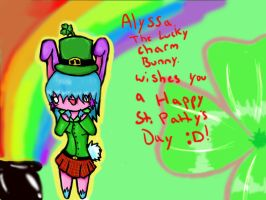 Happy St. Patty's Day :3 by CrazyLittleNaruto