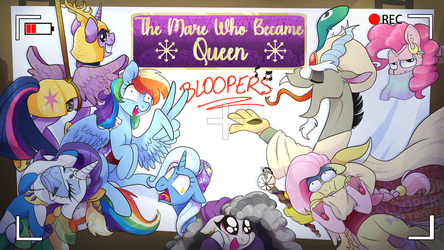 Thumbnail : The mare who became queen BLOOPERS by Kyumiku