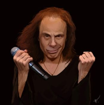 Ronnie James Dio by FonteArt