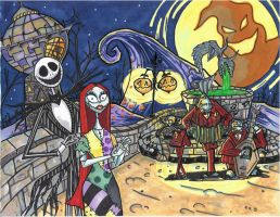The Nightmare Before Christmas by brtmchl