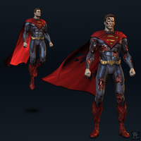 Injustice: Gods Among Us - Superman (default) by Sticklove