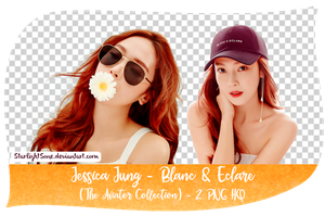 Jessica Jung - Blanc and Eclare | 2 PNG Pack by StarlightSone
