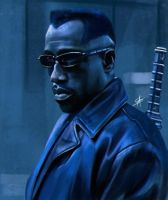 Wesley Snipes - Blade by TheSig86