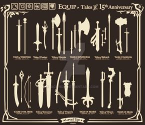 Tales of Weapons 15 th Anniversary by Dice9633
