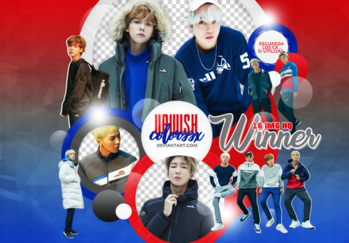 WINNER  PNG PACK #1/HIGHCUT by UpWishColorssx
