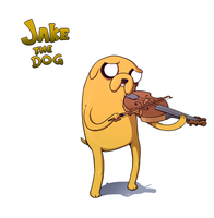 Jake the Dog by RainDante