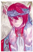 Watercolor: Homme Rebelle by hiromihana