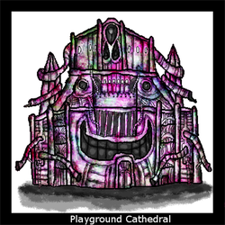 Playground Cathedral by dogdragon