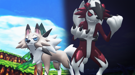 Lycanroc Pack (Includes Ultra  Dusk version) by GuilTronPrime