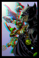 JLA New 52 in 3D Anaglyph by xmancyclops