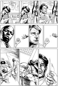 Homicide - Page 2 (inks) by DavidAspmo