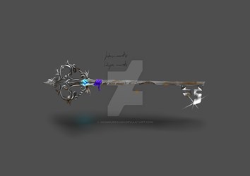 Memento, Custom Keyblade by GrimMurrough