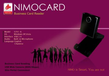 Nimo Business Card Reader by MahdyDesigns