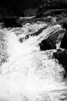 Whitewater on the River Affric by doches