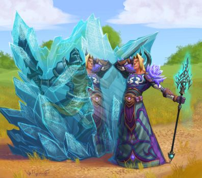 Frost Mage by VanHarmontt