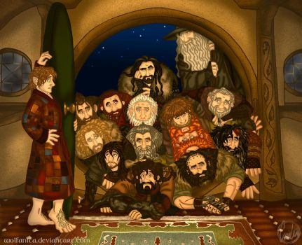The Hobbit: Knock Knock by wolfanita