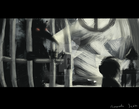 Caged by AmandaJeansDrawings