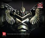TRANSFORMERS AOE LEADER GRIMLOCK REPAINT MP 08 by wongjoe82