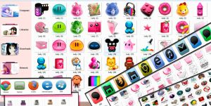 pack de iconos en png e ico .zip by TutosLadyPink