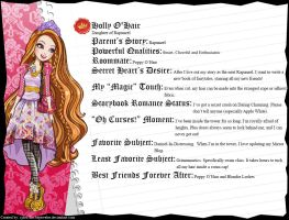 Ever After High - Holly O'Hair's Full Bio v3 by cjlou-the-bejeweler