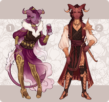 [CLOSED] Gilded Duo Adopts by Oneiir