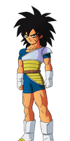 Young Broly Render by daimaoha5a4