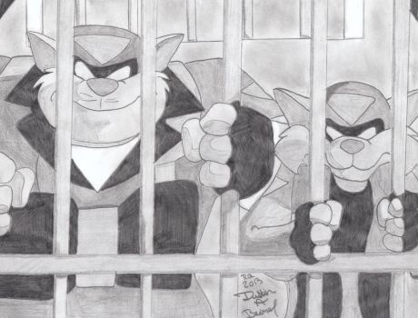 Swat Kats: All locked Up by Melbrooksjew
