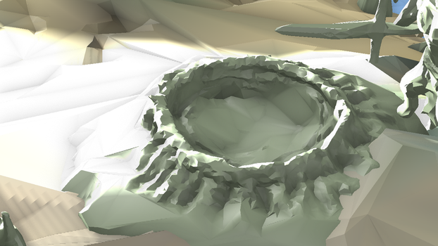 Day 18 - Crater (L) by wingsyo