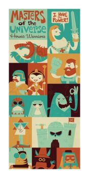 Masters of the Universe He-Man by Montygog