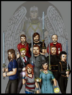 Blessed Warriors: The Family Selkirk by Andared
