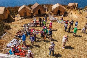 Uros Islands - Big Fish Island by TarJakArt