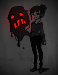 160.366- Self: My Doubt is haunting me by ArtofKatMar