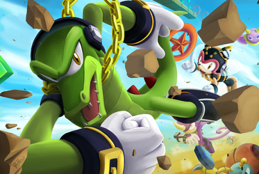 Chaotix Runners by sonicolas