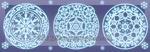 Pse Brushes: Ice Arcane Circles by StephDragonness